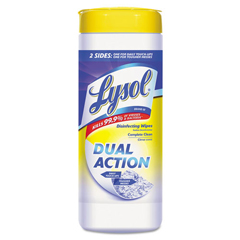 RAC81143 - LYSOL® Brand Dual Action™ Disinfecting Wipes