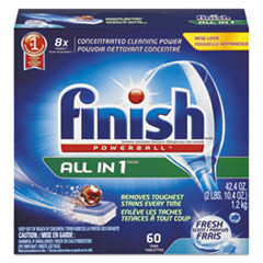 RAC81158BX - FINISH® Powerball® Dishwasher Tabs