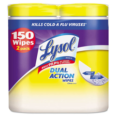 RAC84922CT - LYSOL® Brand Dual Action™ Disinfecting Wipes