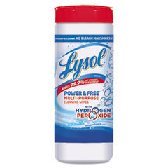 RAC88069CT - LYSOL® Brand Power & Free™ Multi-Purpose Cleaning Wipes