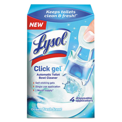 RAC92918 - LYSOL® Brand Click Gel™ Automatic Toilet Bowl Cleaner