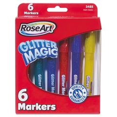 RAI03485 - RoseArt® Glitter Magic Markers