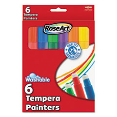 RAI48344AA12 - RoseArt® Washable Tempera Painters
