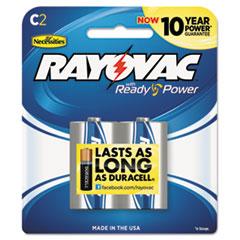 RAY8142F - Rayovac® Mercury Free Alkaline Batteries