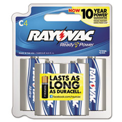RAY8144F - Rayovac® Alkaline Recloseable Carded Batteries