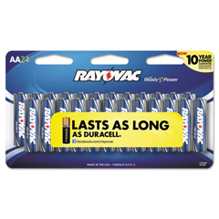 RAY81524CF2 - Rayovac® Alkaline Peggable Large Card Batteries