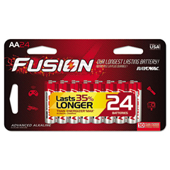 RAY81524SCTFUS - Rayovac® Fusion Performance Alkaline Batteries
