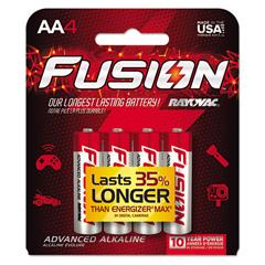 RAY8154TFUS - Rayovac® Fusion Performance Alkaline Batteries