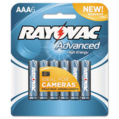 RAY8246HEF - Rayovac® Advanced High Energy Alkaline Batteries