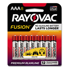 RAY8248CTFUS - Rayovac® Fusion Performance Alkaline Batteries