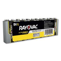 RAYAL9V - Rayovac® Industrial PLUS Alkaline Batteries