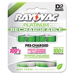 RAYPL7132GENB - Rayovac® Recharge Plus NiMH Batteries