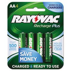 RAYPL7154B - Rayovac® Recharge Plus NiMH Batteries