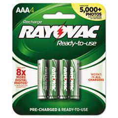 RAYPL7244B - Rayovac® Recharge Plus NiMH Batteries