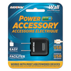RAYPS69A - Rayovac® Single USB Wall AC Charger