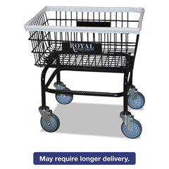 RBTR27BKXWA5UN - Royal Basket Trucks Wire Laundry Cart