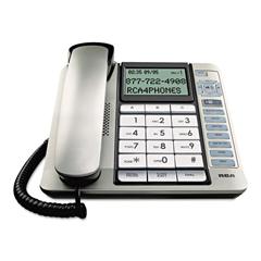 RCA11141BSGA - RCA® 11141BSGA One-Line Corded Phone