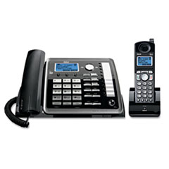 RCA25255RE2 - RCA® ViSYS™ 25255RE2 Two-Line Corded/Cordless Phone System with Answering System
