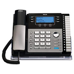 RCA25424RE1 - RCA® ViSYS™ Four-Line Corded Expandable Business Phone System