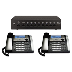 RCA25800 - RCA® Eight-Line Corded Office Phone System