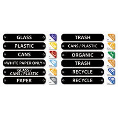 RCP1792975 - Rubbermaid Commercial® Recycle Label Kit
