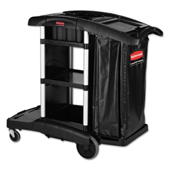 RCP1861429 - Rubbermaid® Commercial Executive High Capacity Janitorial Cleaning Cart