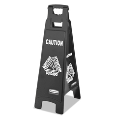 RCP1867509 - Executive 4-Sided Multi-Lingual Caution Sign