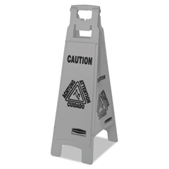 RCP1867510CT - Rubbermaid® Commercial Executive 4-Sided Multi-Lingual Caution Sign