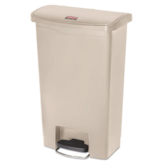 RCP1883458 - Rubbermaid® Commercial Slim Jim® Resin Step-On Container