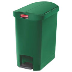 RCP1883583 - Rubbermaid® Commercial Slim Jim® Resin Step-On Container
