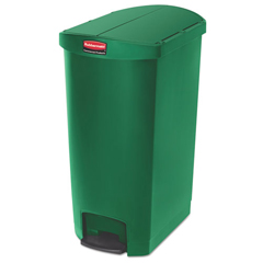 RCP1883587 - Rubbermaid® Commercial Slim Jim® Resin Step-On Container