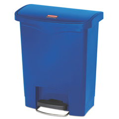 RCP1883591 - Rubbermaid® Commercial Slim Jim® Resin Step-On Container