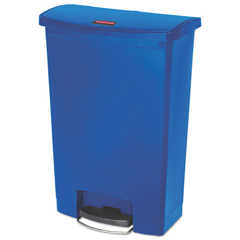 RCP1883597 - Rubbermaid® Commercial Slim Jim® Resin Step-On Container