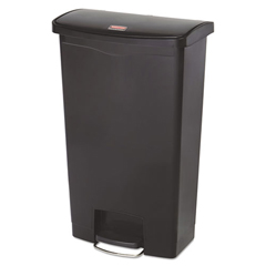 RCP1883613 - Rubbermaid® Commercial Slim Jim® Resin Step-On Container