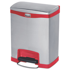 RCP1901988 - Rubbermaid® Commercial Slim Jim® Stainless Steel Step-On Container
