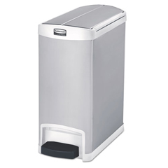 RCP1901991 - Rubbermaid® Commercial Slim Jim® Stainless Steel Step-On Container