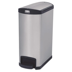 RCP1901993 - Rubbermaid® Commercial Slim Jim® Stainless Steel Step-On Container