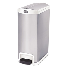 RCP1901998 - Rubbermaid® Commercial Slim Jim® Stainless Steel Step-On Container
