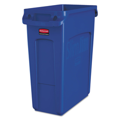 RCP1971257 - Rubbermaid® Commercial Slim Jim® Recycling Container with Handles