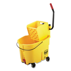 RCP2031764 - Rubbermaid Commercial WaveBrake 2.0 Bucket/Wringer Combos