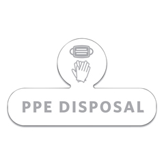 RCP2137851 - Rubbermaid® Commercial Medical Decal