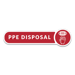 RCP2138292 - Rubbermaid® Commercial Medical Decal