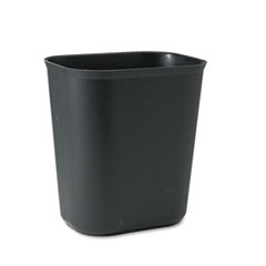 RCP254100BK - Rubbermaid® Commercial Fiberglass Wastebasket