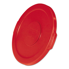 RCP2609RED - Rubbermaid® Commercial Round Brute® Lid
