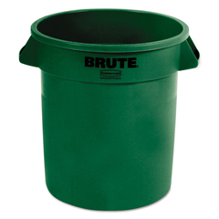RCP2610DGR - Rubbermaid® Commercial Round Brute® Container