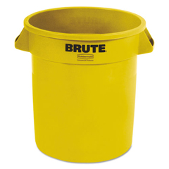 RCP2610YELCT - Rubbermaid® Commercial Round Brute® Container
