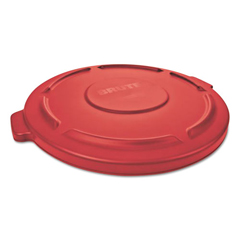 RCP261960RED - Rubbermaid® Commercial Round Brute® Lid