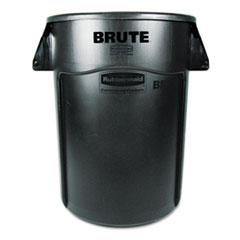 RCP264360BK - Rubbermaid® Commercial Vented Round Brute® Container