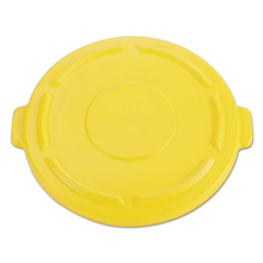 RCP2645-60YEL - Vented Round Brute® Lid