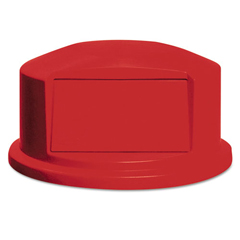 RCP2647-88RED - Round Brute® Dome Top